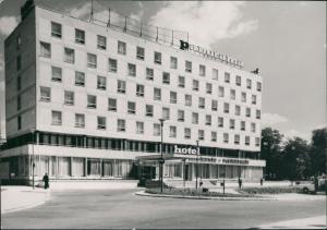 Postcard Breslau Wrocław Hotel Orbis ,,Panorama