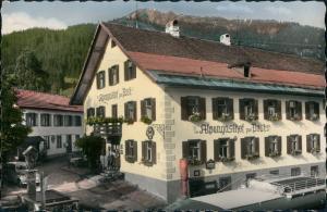 Ansichtskarte Schattwald Alpen Gasthof Zur Post 1967