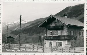 Jochberg (Tirol) Jochberg Partie am Haus Schwienbacher 1960 Privatfoto