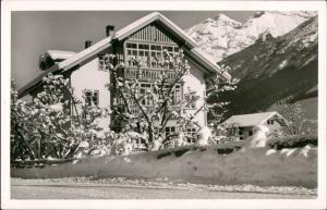 Neustift im Stubaital Fremdenheim Danler Stubai Stubaital im Winter 1960