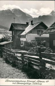 Ansichtskarte Abtenau Zimmervermietung Kronreif Abtenau Tennengebirge 1966