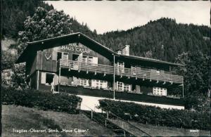 Tragöß Partie im Oberort mit Unterkunft Pension Haus Cäsar 1960