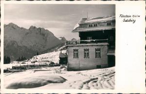 Gerlos Umland-Ansicht Filzstein Berghütte auf 1641 M. Höhe 1964
