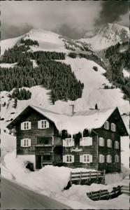 Mittelberg Gästehaus Gamsblick Mittelberg Tobel Kleinwalsertal 1960