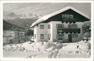 Pfarrwerfen Foto-Ansicht Pension   SONNECK Salzburger Land 1960 Privatfoto
