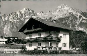 Zillertal Haus Kircher Schlitters Zillertal Pension, Unterkunft 1963