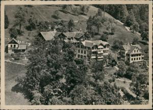 Ansichtskarte Unterwilen-Vitznau Hotel Pension Unterwylen 1940