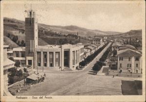 Cartoline Predappio Casa del Frascio 1937
