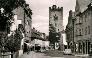 Ansichtskarte Mühldorf am Inn Straßenpartie 1963