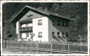 Ansichtskarte Ainet bei Lienz Fremdenheim Lackner 1956