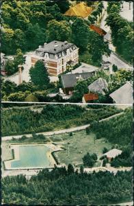 Ansichtskarte Burg (Dithmarschen) Luftbild 1965