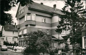 Ansichtskarte Braunlage Haus Cecilie 1964