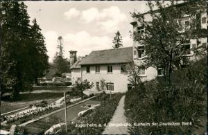 Ansichtskarte Seeheim-Jugenheim Kurheim der Deutschen Bank 1966