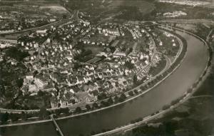 Ansichtskarte Münster-Stuttgart Luftbild 1958