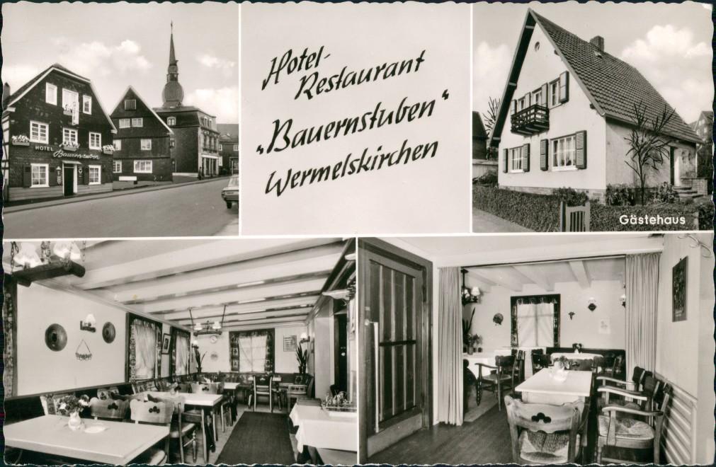 Ansichtskarte Wermelskirchen Hotel - Restaurant BAUERNSTUBEN\