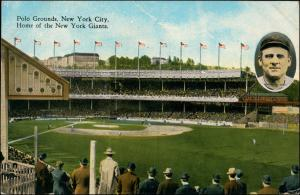 Postcard New York City Polo Grounds Home of the New York Giants 1929