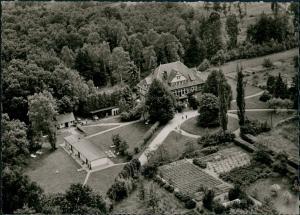 Ansichtskarte Lüchow (Wendland) Luftbild Landschloß Obergut Grabow 1961