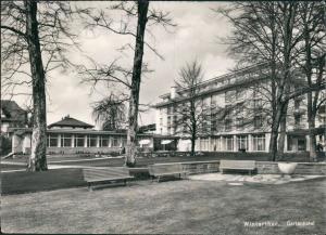 Ansichtskarte Winterthur Gartenhotel 1973