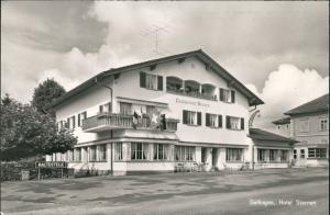 Ansichtskarte Gelfingen Hotel Sternen 1963