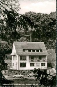 Schwarzenberg mit Schönmünzach-Baiersbronn Gasthof - Pension Lamm Autos 1965