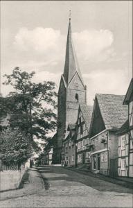 Ansichtskarte Mengeringhausen-Bad Arolsen Straßenpartie 1965
