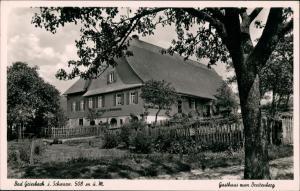 Ansichtskarte Bad Peterstal-Griesbach Gasthaus zum Breitenberg 1951