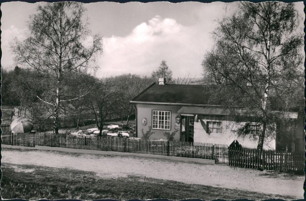 Ansichtskarte Treysa-Schwalmstadt Gast- u. Gartenwirtschaft, Waldschenke 1964 0