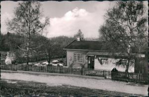 Ansichtskarte Treysa-Schwalmstadt Gast- u. Gartenwirtschaft, Waldschenke 1964