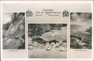 Ansichtskarte Egern-Rottach-Egern Café am Wallbergmoos 3Bild 1940