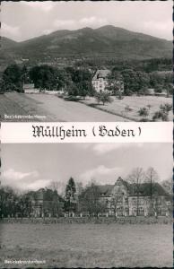 Ansichtskarte Müllheim (Baden) 2 Bild: Krankenhaus 1965
