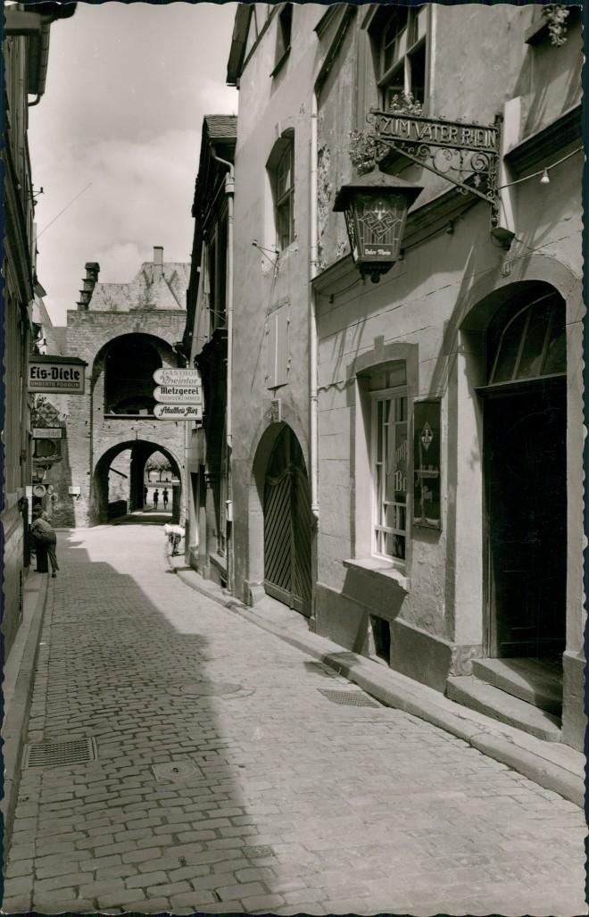Ansichtskarte Andernach Rheinstraße 1963 0