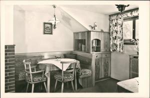 """Bad Hindelang """"Stüble"""" im Gästehaus Gottfried Kaufmann 1954"""