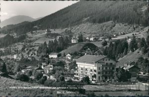 Ansichtskarte Steinach (Brenner) Steinacherhof Hotel Brenner Panorama 1960