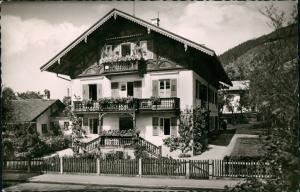 Ansichtskarte Tegernsee (Stadt) Haus B. Rummel, Pension Unterkunft 1964