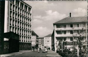 Ansichtskarte Bielefeld Straßen Partie An der Welle 1955