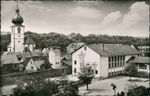 Marktheidenfeld Kath. Pfarrkirche mit Pfarrjugendheim Sankt Laurenzius 1965