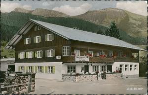 Steibis-Oberstaufen Gasthof, Metzgerei und Pension Goldenes Kreuz 1960