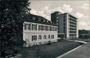 Ansichtskarte Bad Rappenau Partie am Schwärzberg Sanatorium 1960