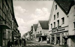 Hessisch Oldendorf Langestraße, Personen, Geschäf R. Wermann, 1965