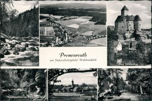 Reuth bei Erbendorf Mehrbild-AK 6 Ansichten Premenreuth Waldnaab-Tal 1960