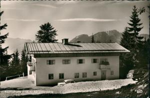 Berchtesgaden Umland-Ansicht Alpeltalhütte (1100 m) Untersberg (1973 m) 1960