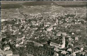 Ansichtskarte Gottmadingen Luftbild 1957