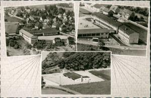 Grevenbrück Luftbilder Überflug Ansichten, 3x Luftaufnahme Mehrbild-AK 1968