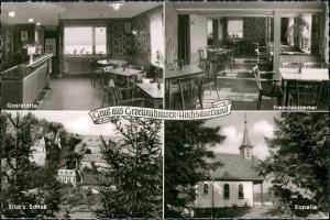 Olsberg Gasthof  Pension 4 Bild 1960   Landpoststempel