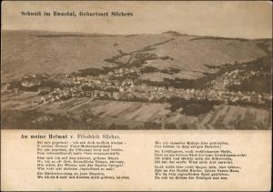 Ansichtskarte Schnait-Weinstadt Blick auf die Stadt Remstal 1927