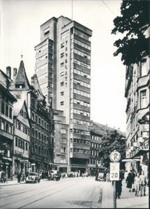 Ansichtskarte Stuttgart Tagblatt-Turmhaus REPRO 1932/1965 REPRO