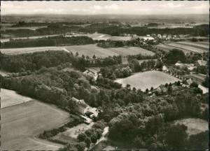 Ansichtskarte Bünde Luftbild Kurpark Randringhausen 1966