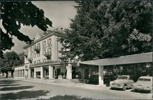 Ansichtskarte Piotta (Tessin) Hôtel de la Poste, Autos 1965