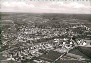 Mengeringhausen-Bad Arolsen Luftbild Überflug Blick auf Wohnhaus Siedlung 1965