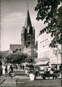 Bernkastel-Kues Berncastel-Cues Moselpromenade - Hotel Römischer Kaiser 1963